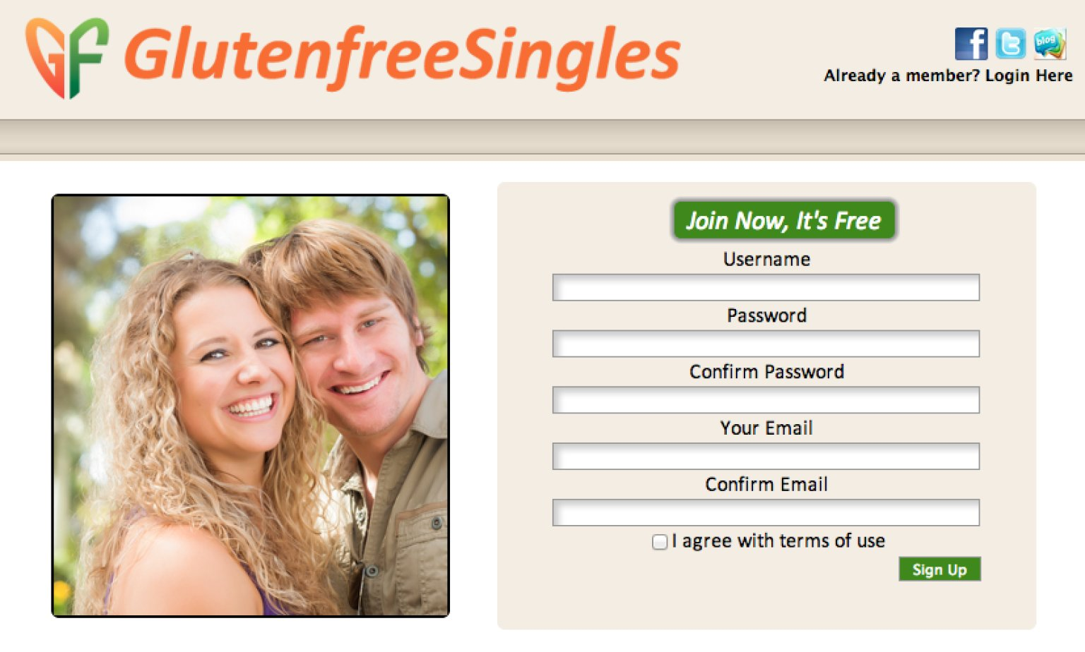 need a dating site