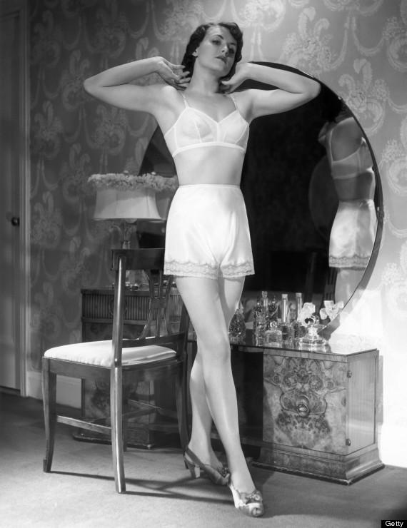 retro lingerie