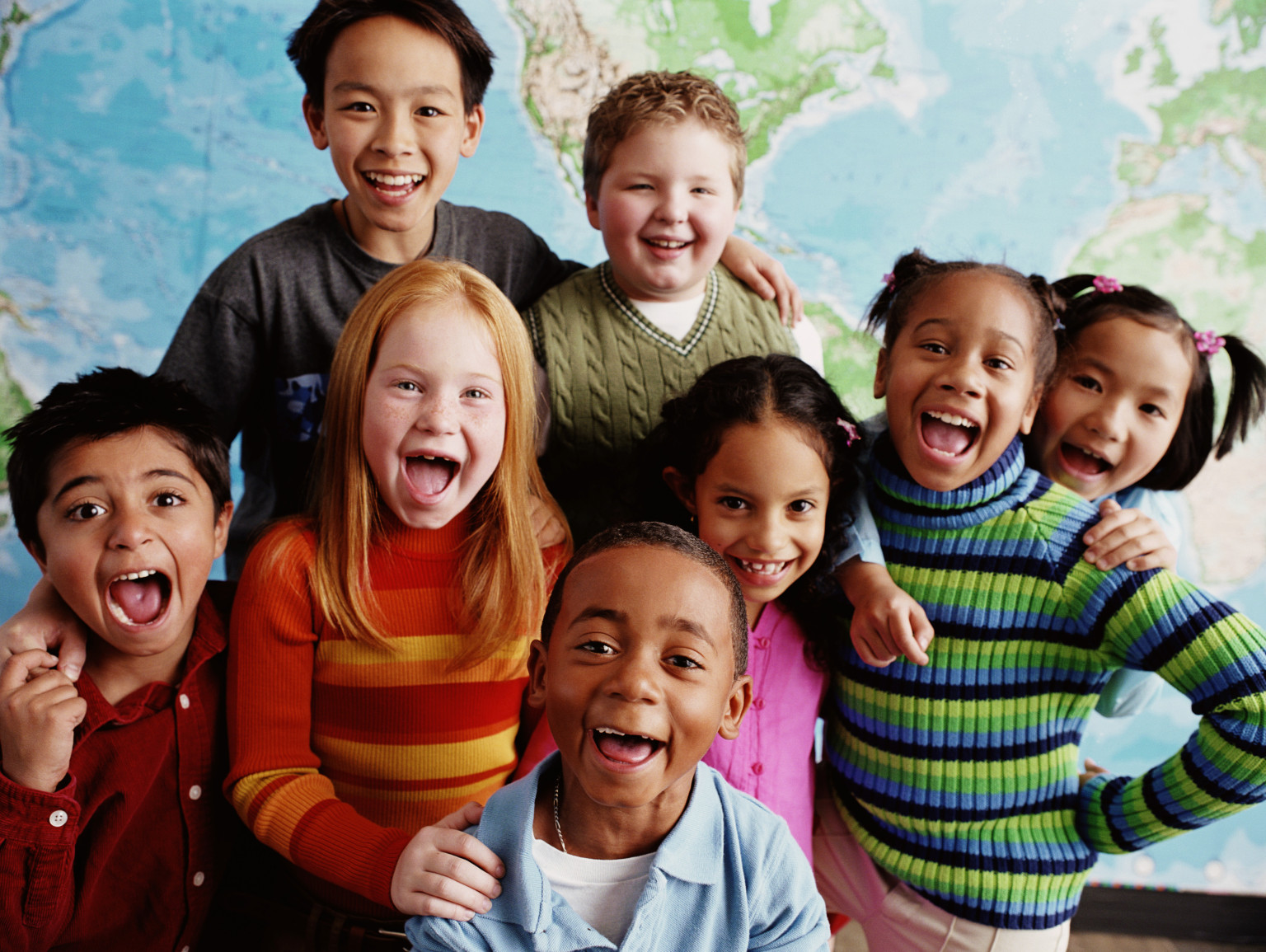 Children Different Races 1536 x 1155