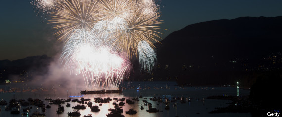 Canada Named Vancouver Fireworks Winner