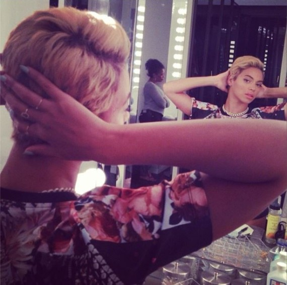 beyonce cheveux courts