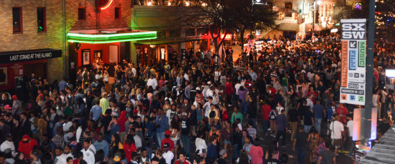 SOUTH BY SOUTHWEST AUSTIN FANS