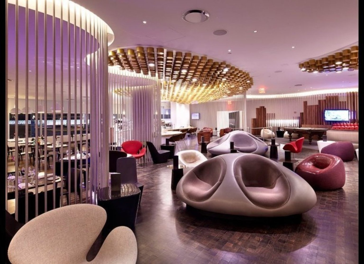 The world 39 s fanciest airport lounges conde nast traveler for Fanciest hotel in the world