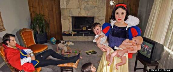 'Fallen Princesses': Dina Goldstein's Work Explores The Dark Side