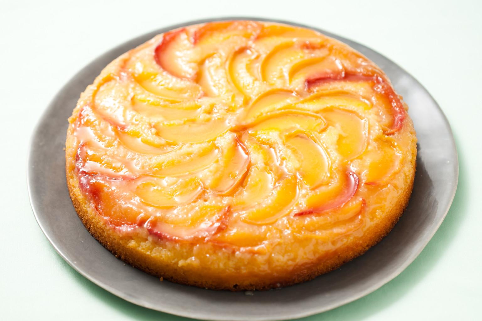 Cake recipe frozen peaches