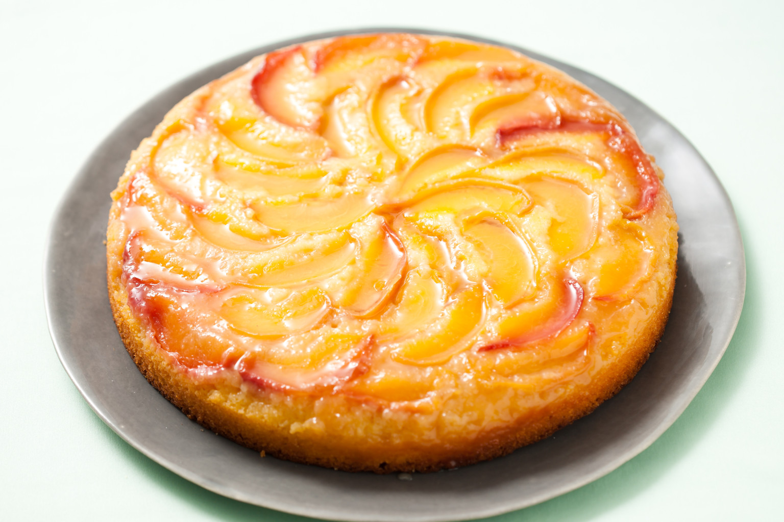 Canned Peach Upside Down Cake Recipe Uk