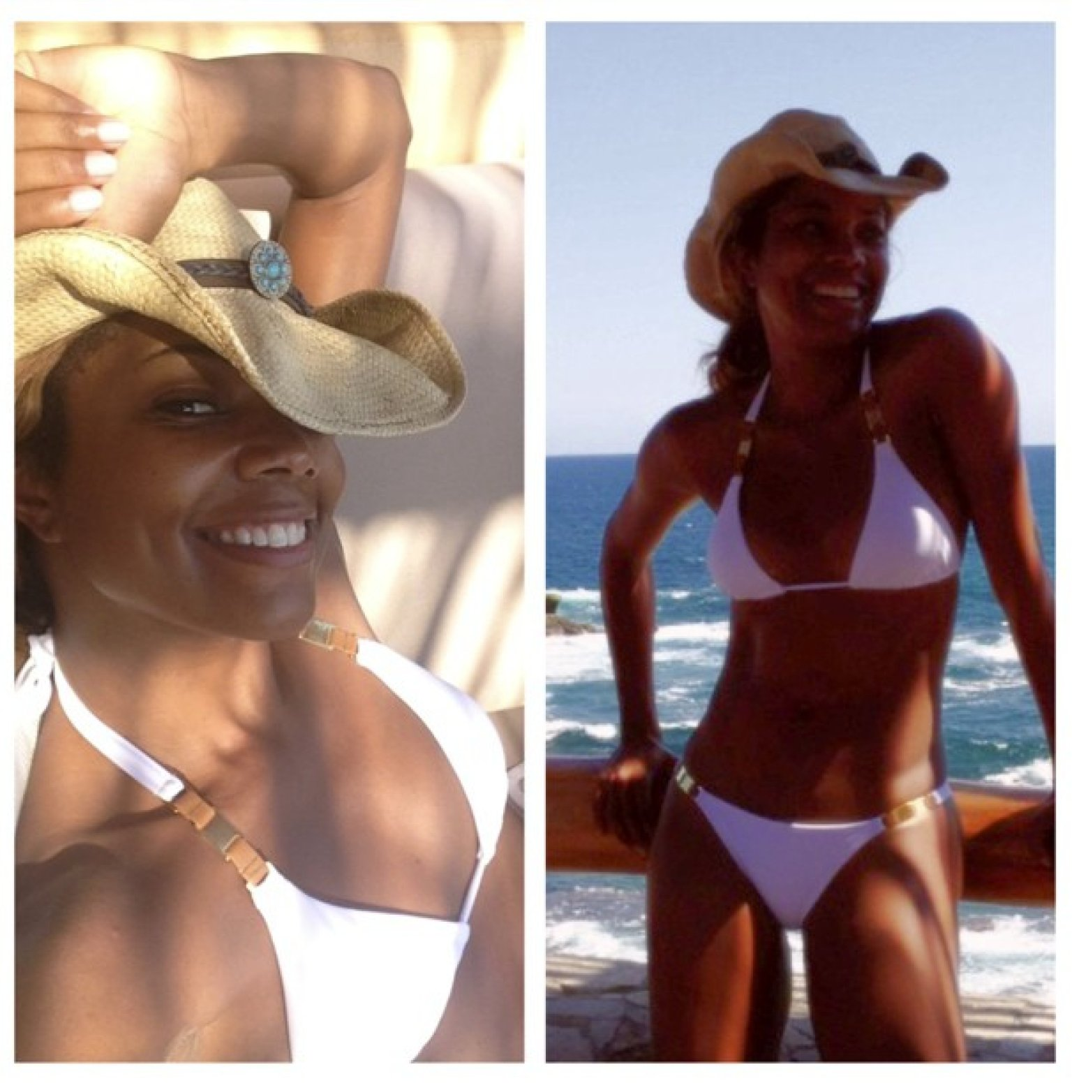 Jacky Joy! gabrielle union bikini pictures white