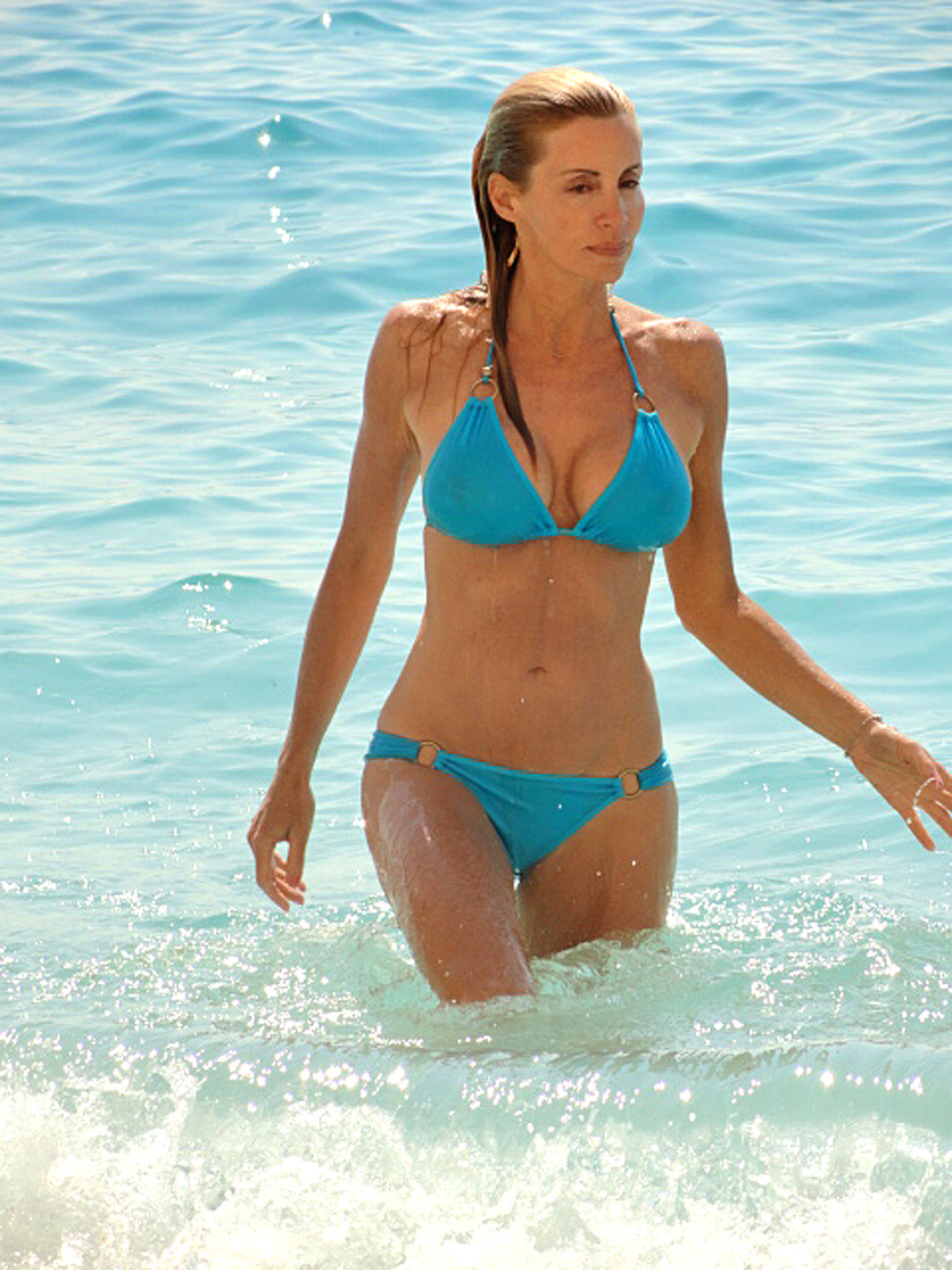 Entertaining real housewives camille grammer bikini that can