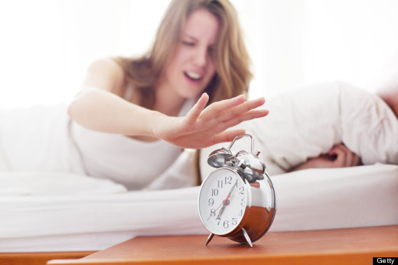 alarm clock snooze