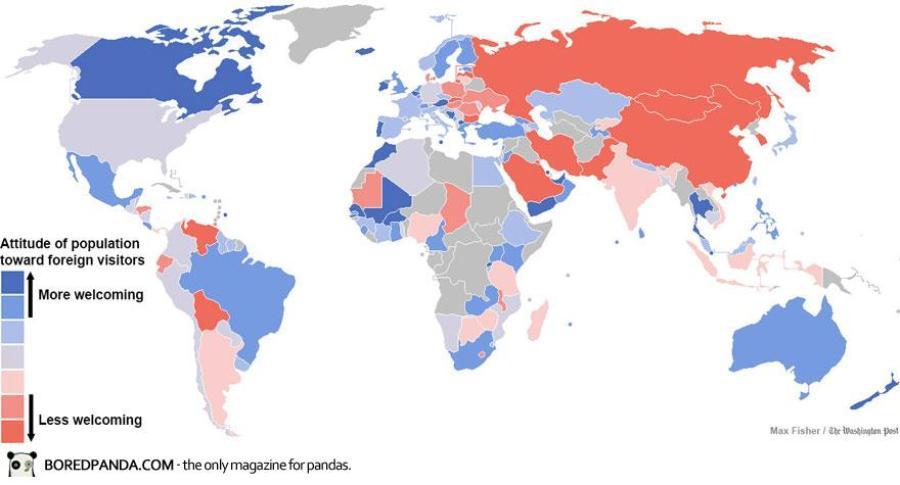 paesi più ospitali