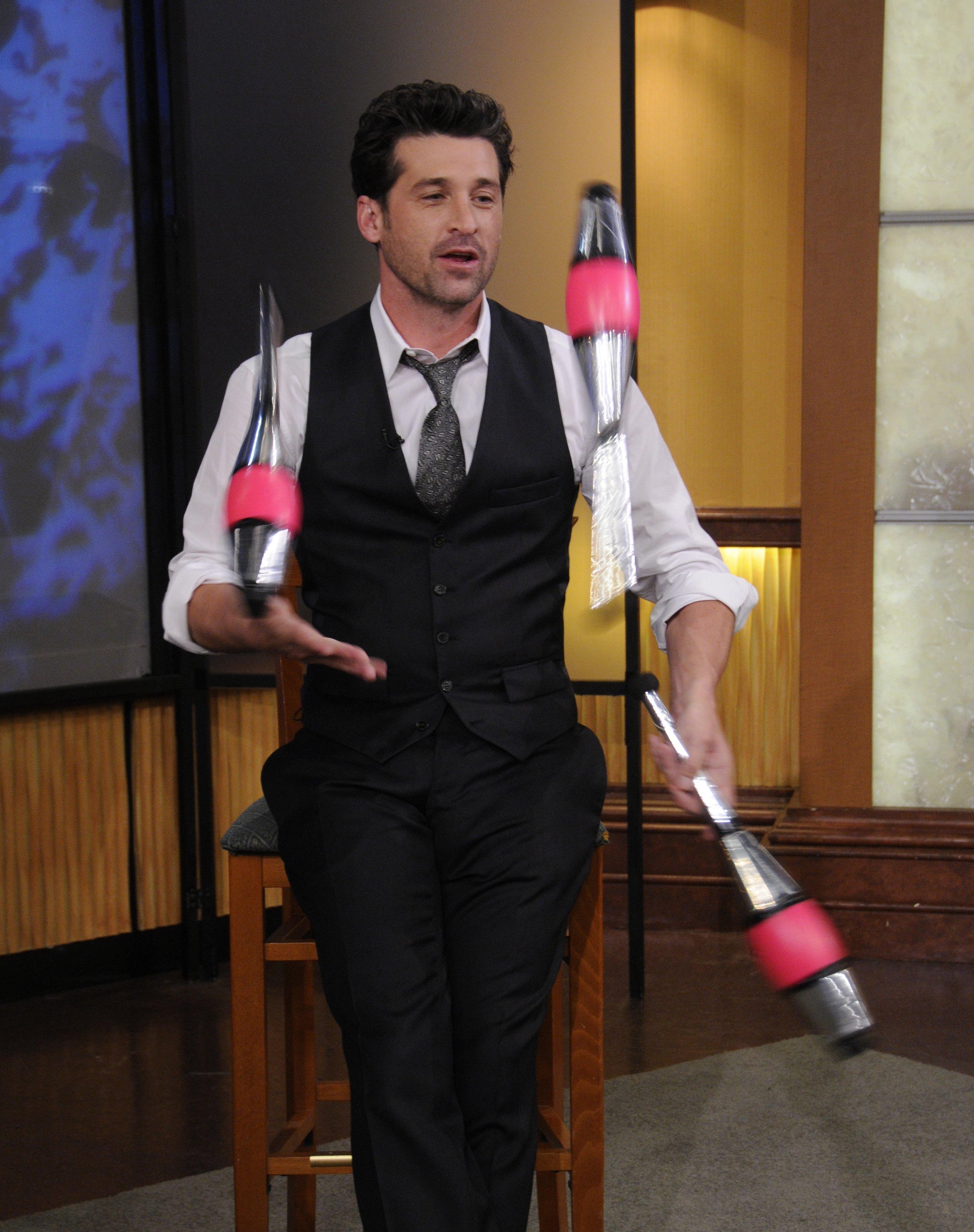 patrick dempsey juggle