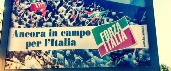 FORZA ITALIA CARTELLONI