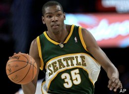 kevin durant seattle