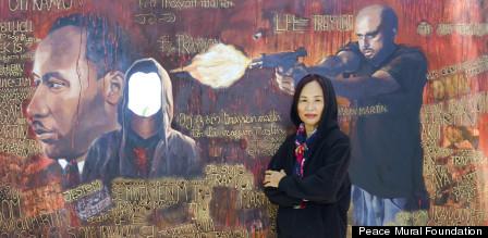 trayvon martin mural