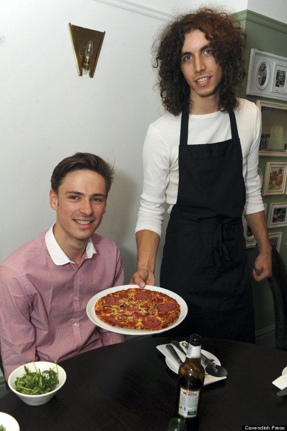 prankster gary newborough pizza restaurant