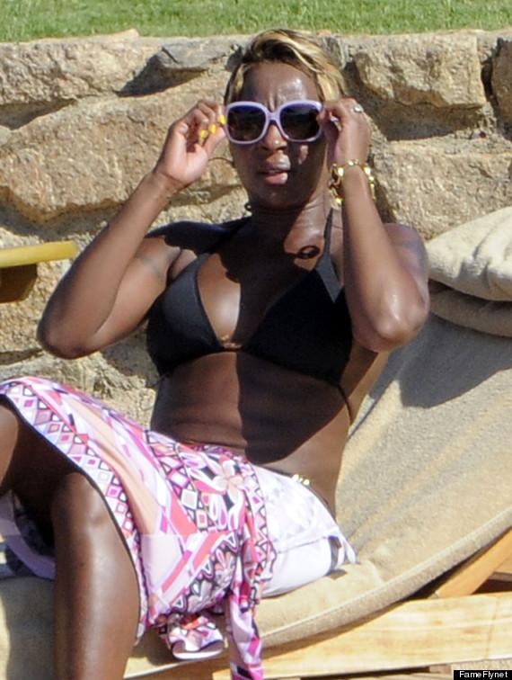 Idea very Mary j blige nude bikini much