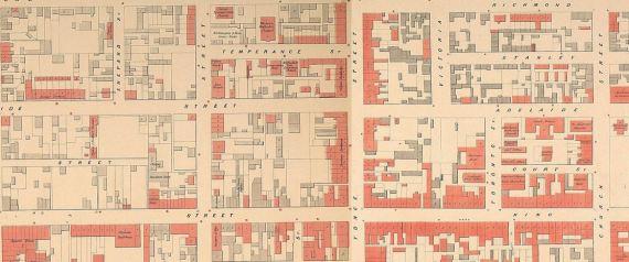 TORONTO MAP 1858