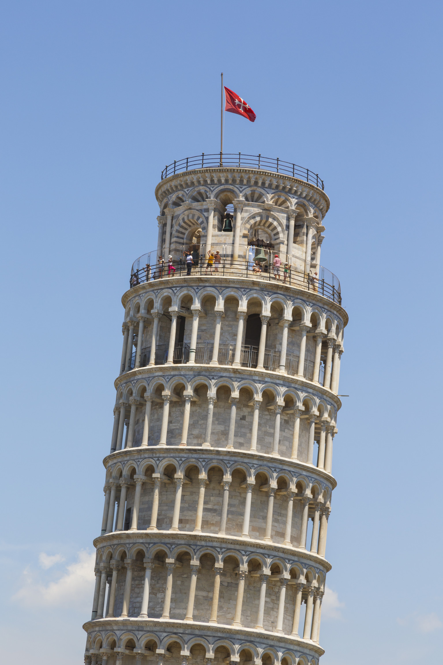 An analysis of the leaning tower of pisa