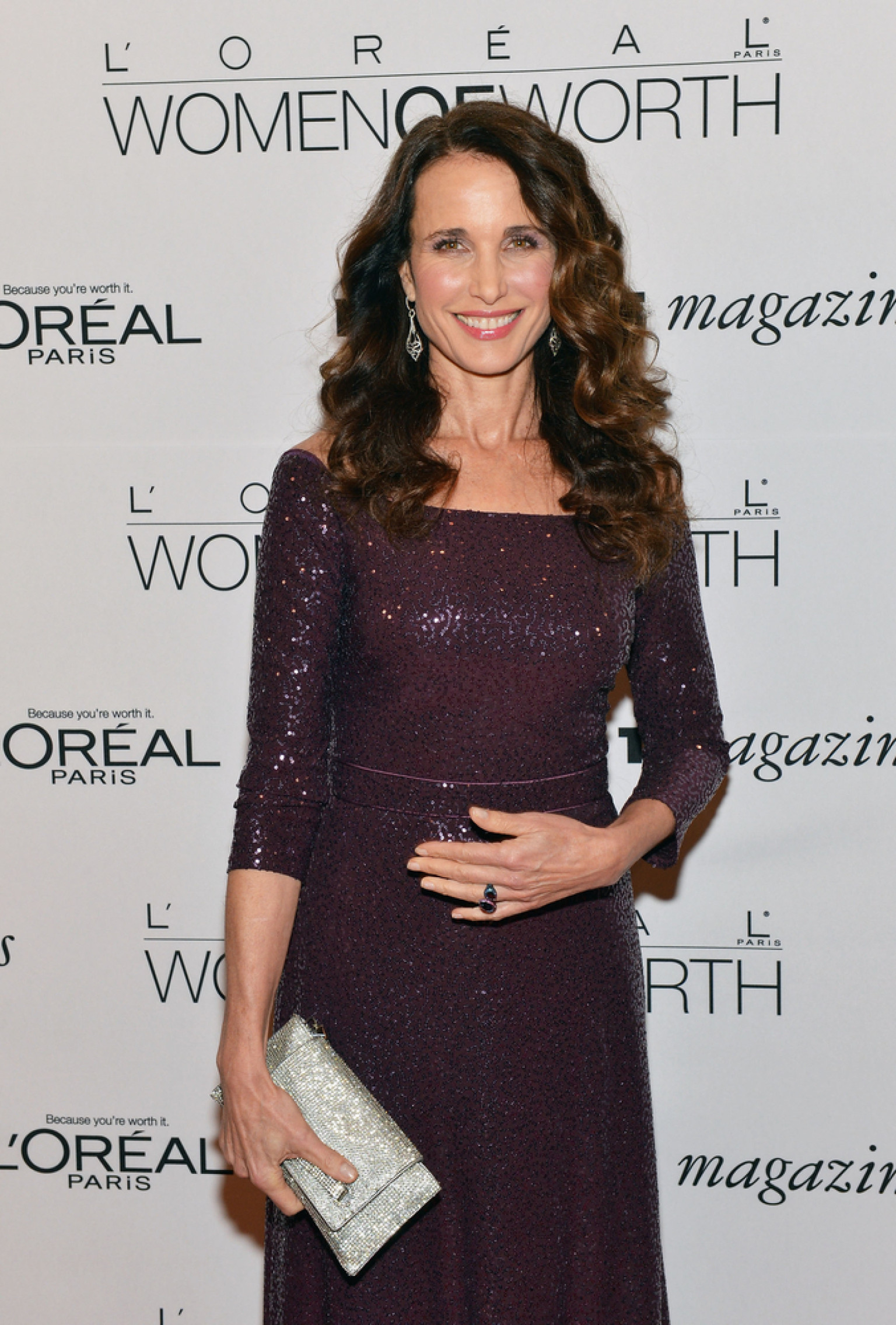 andie macdowell young