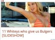 Daily Caller Runs '11 Whiteys Who Give Us Bulgers'