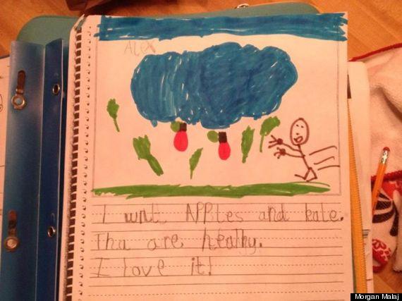 kid note kale
