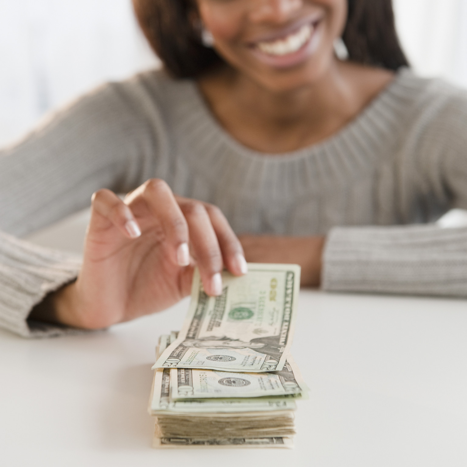 Image result for african american mom borrowing money