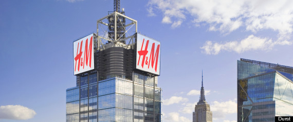 looking at New York City's iconic skyline, which is exactly why H&M ...