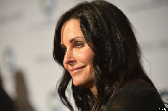 courtney cox horizontal