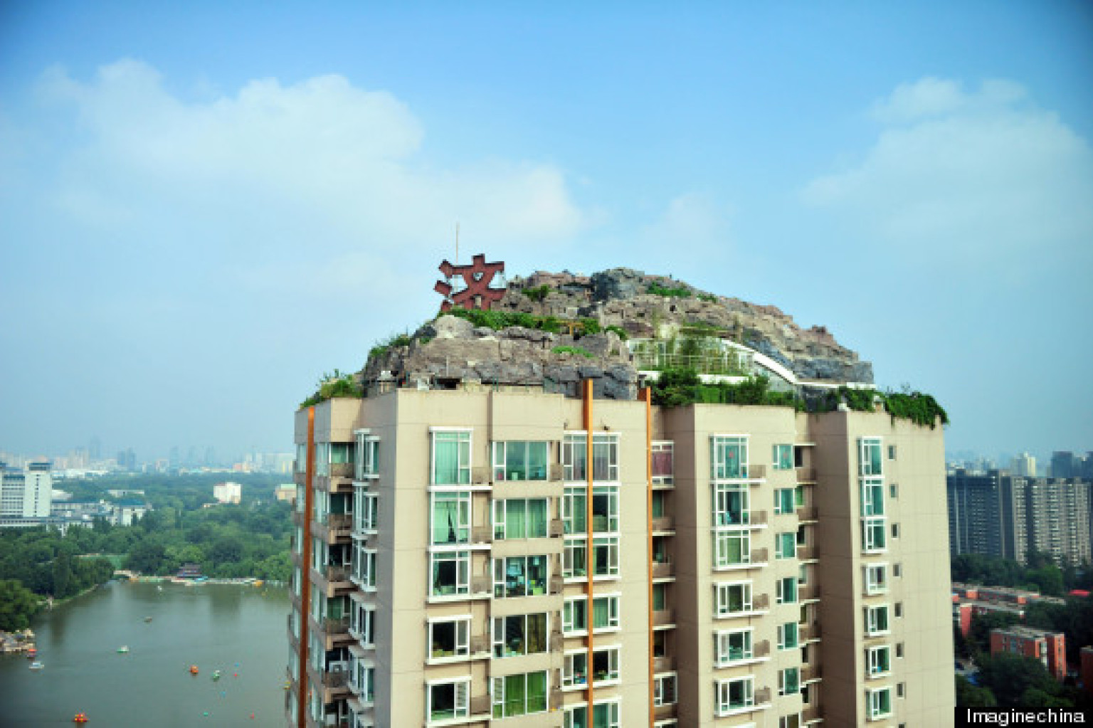 Zhang Lin Builds His Dream Mountain Home On Top Of A