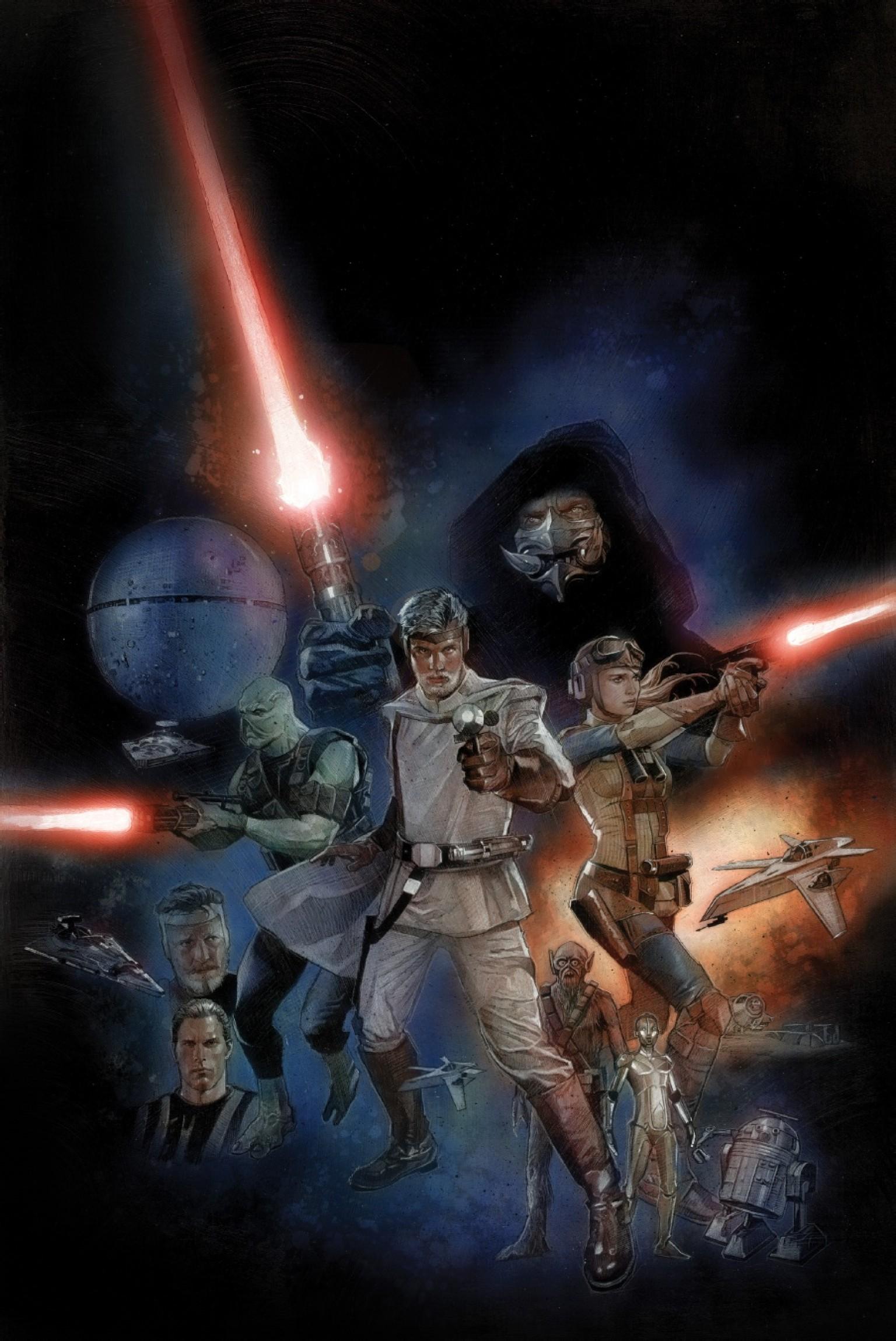 Star wars sexe bande dessinée