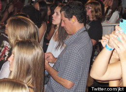 PICTURES: Long-Suffering Dads At A One Direction Concert