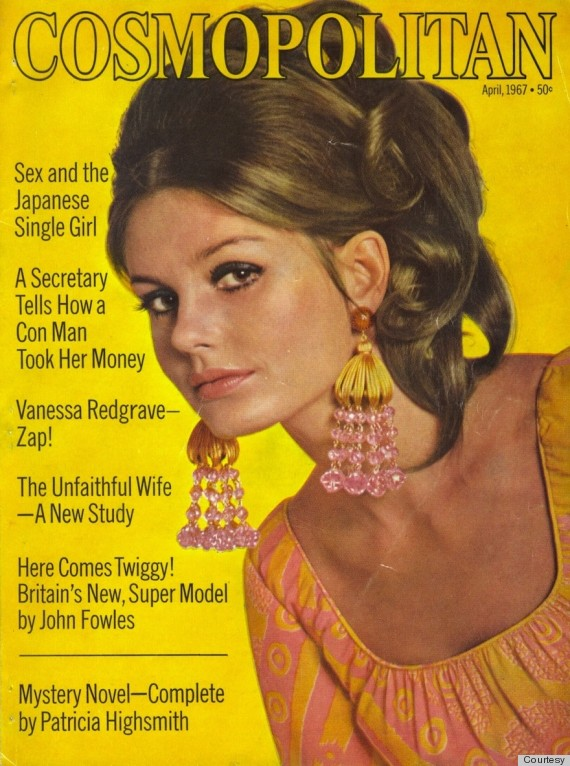 Six decades of cosmo covers show how 39 sexy 39 has and hasn for Old magazines