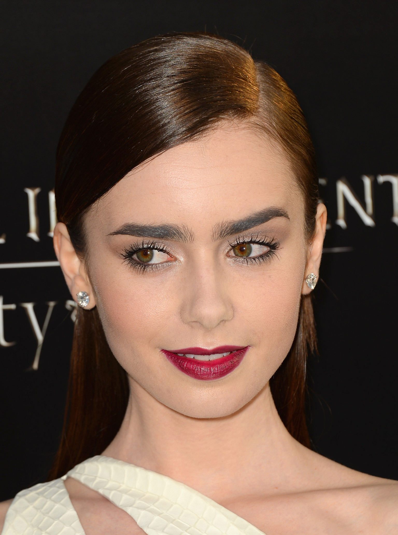 Lily Collins Cutout Dress Hit Or Miss Photos Huffpost