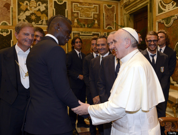 pope francis mario balotelli