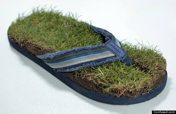 scottish turf flip flops