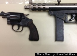 cook county sheriff's office confiscates gun
