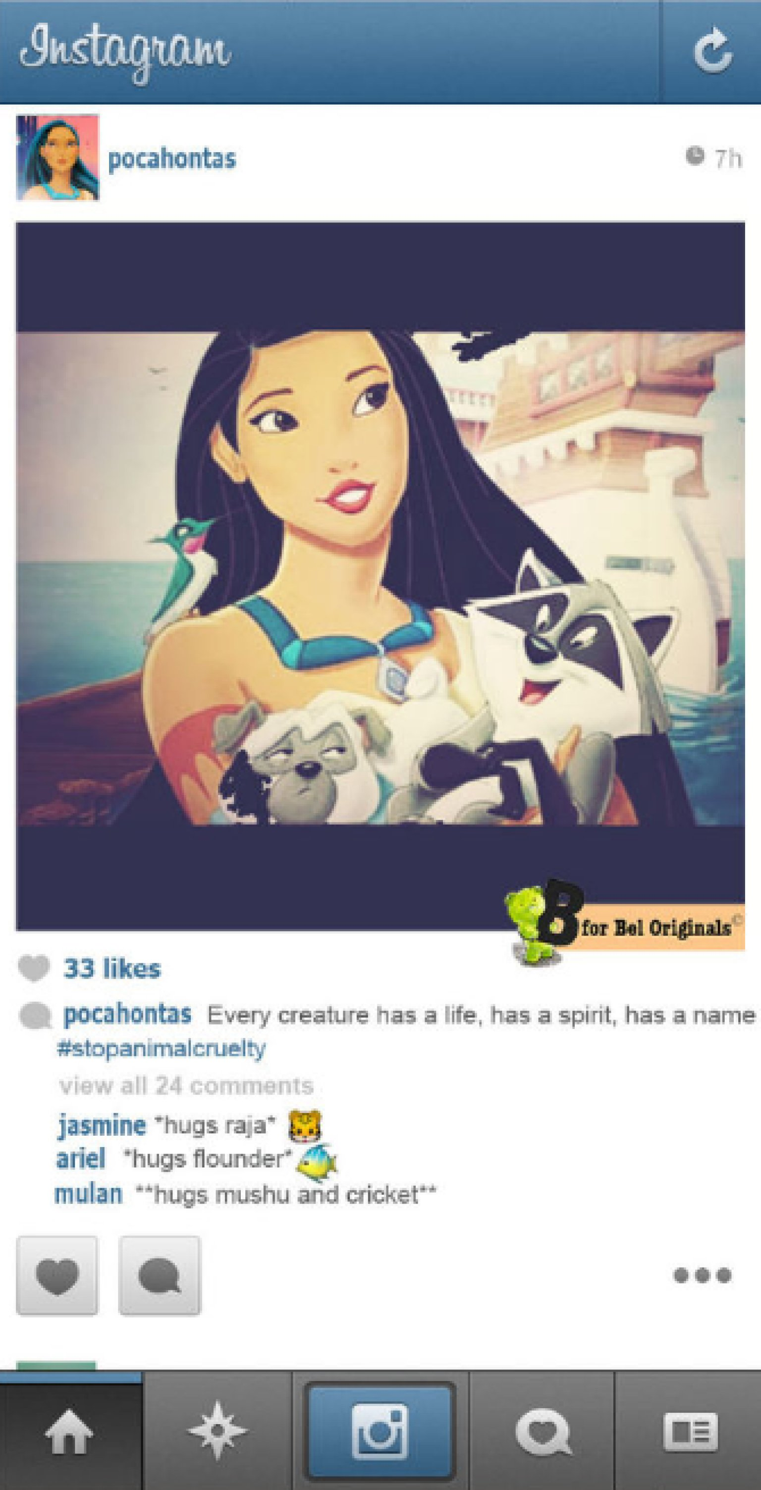 If Disney Princesses Had Instagram Accounts (PICTURES