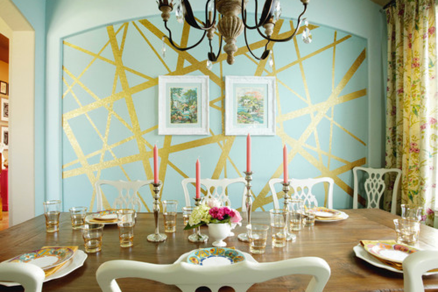 Interior Wall Painting Designs crafty finds for your inspiration no5 painting wallswall 8 Incredible Interior Paint Ideas From Real Homes That Turn A Wall Into A Masterpiece Photos Huffpost