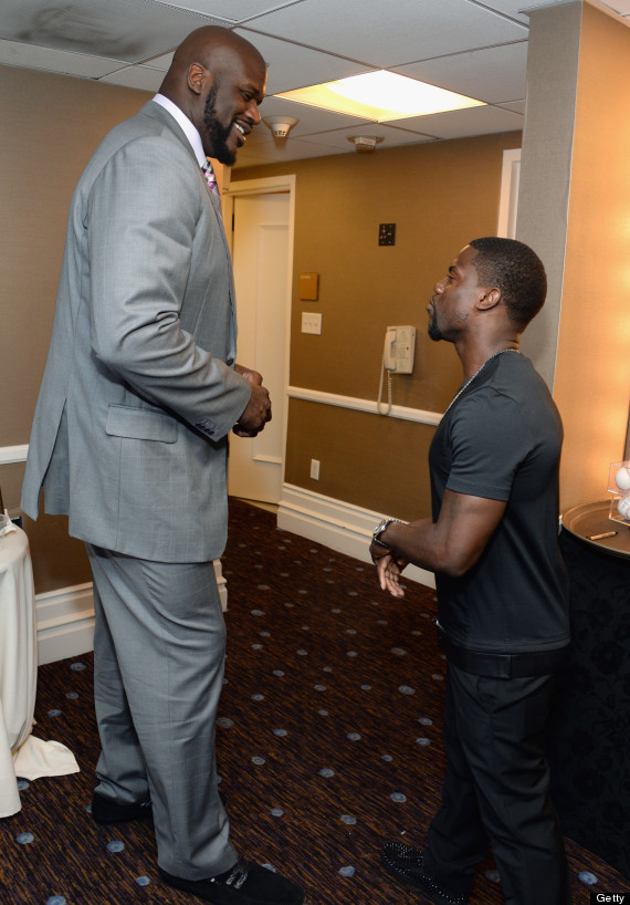 shaquille oneal kevin hart
