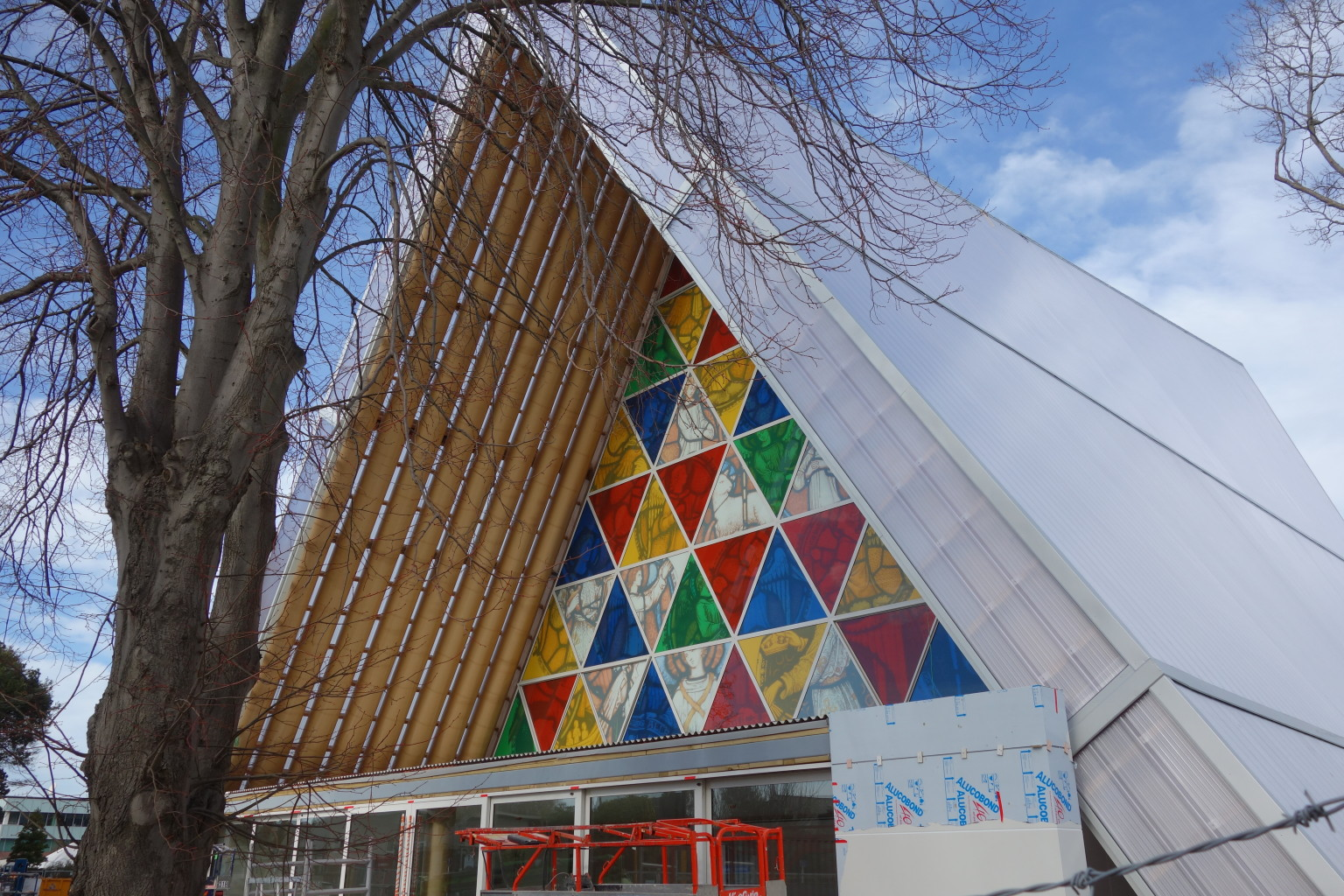 Cardboard Cathedral By Shigeru Ban Opens After Years Long