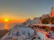 A Sunset Serenade for Santorini