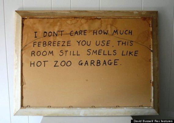 zoo garbage