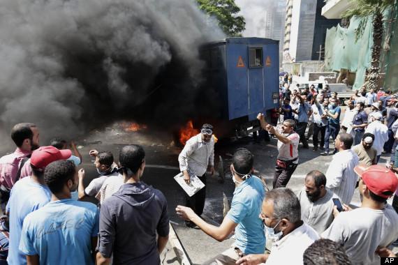 egypt clash islamist president mohammed morsi