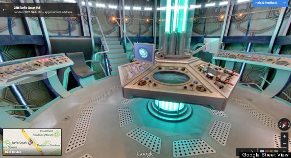 Google Opens The Door To The TARDIS From 'Doctor Who' | HuffPost on
