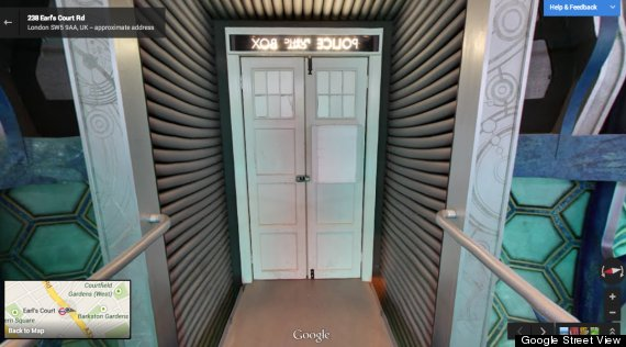 tardis google maps