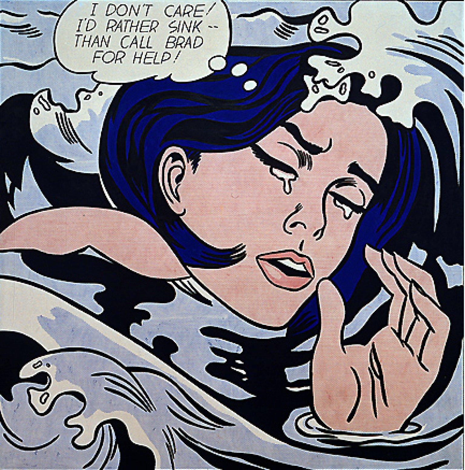 Roy lichtenstein y el pop art vox ultra - Roy lichtenstein cuadros ...