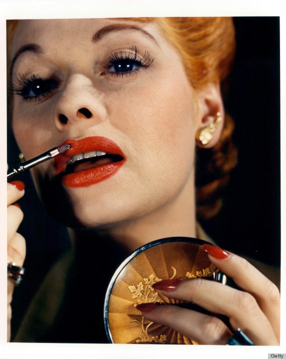 The Stars Who Taught Us How To Wear Red Lipstick Huffpost