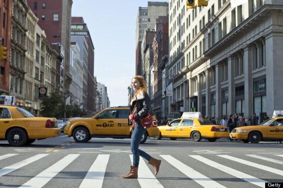 new york city walking