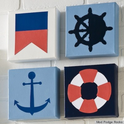 diy canvases