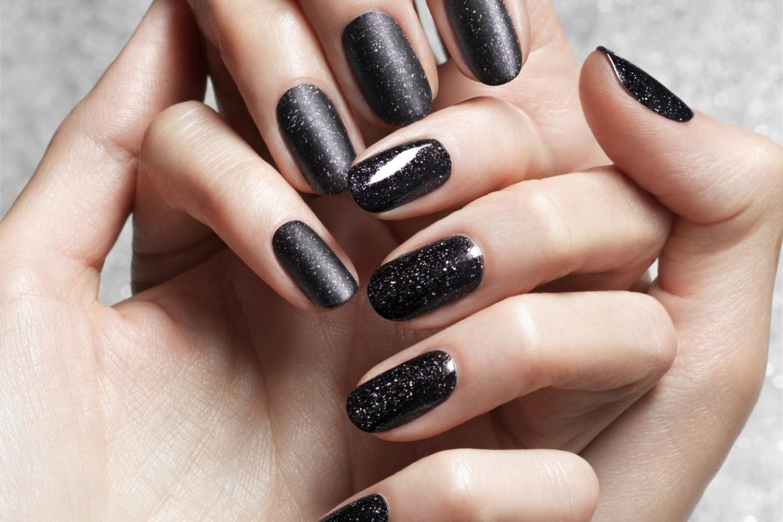 Obsidian Nail Polish Is The New Black Photos Huffpost
